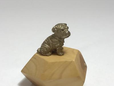 Sharpei Brass Dog Figurine,rare,very detailed item,collectable
