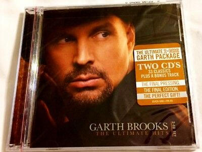 Brand New CD ~ Garth Brooks ~ The Ultimate Hits ~ 2 CD Set ~ 34 Songs ~ NEW
