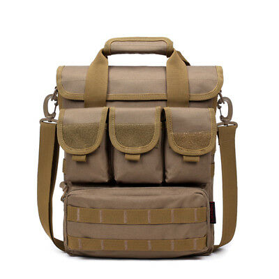 Men Tactical Bag Camo Military Shoulder Bag Outdoor Casual Handbag Hiking Sport