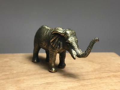 "Brass figurine ""Elephant"",rare,very detailed item,collectable"