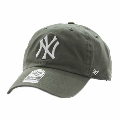 Cappellino 47 Brand Mlb New York Yankees Clean Up Curved V Relax Fit Verde  Uomo 5a7e18bc6131
