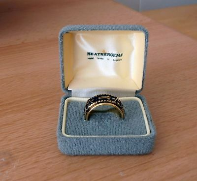 Unusual Rotating Gents Masonic Ring