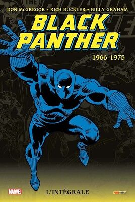 Intégrale Marvel Black Panther  1966-1975