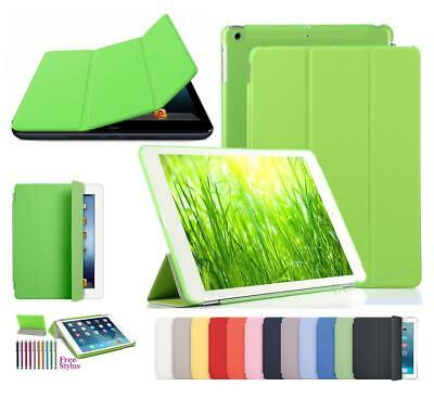 """New Magnetic Stand Smart iPad 6 6th Generation 9.7"""" 2018 PU Leather Case Cover"""