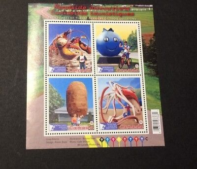 CANADA #2484 Roadside attractions (sheet of 4) - MNH