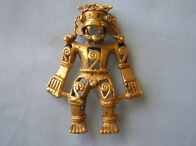 Aztec War God Figure