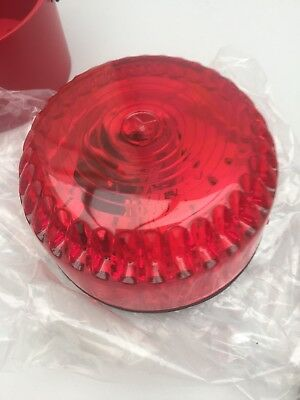 Fulleon solex 3 red deep red base so/r/dr/3c Alarm Beacon New In Box £2.99 Sale