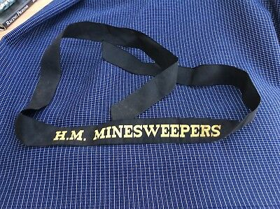 Vintage Royal Navy H.M Minesweepers Tally