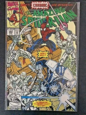 The Amazing Spider-Man #360 - MARVEL Comic Books - 1st Carnage Cameo - Near Mint