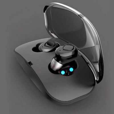 Mini Twins True Wireless In Ear Stereo Sport Bluetooth Earbuds Headset Headphone