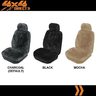 SINGLE 27mm SHEEPSKIN ALL OVER CAR SEAT COVER FOR MERCEDES BENZ C200 CDI