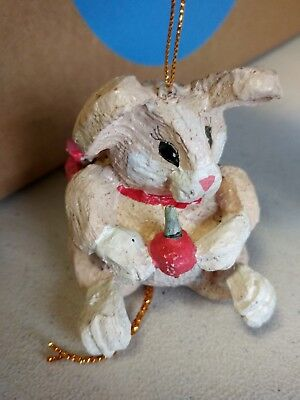"House Of Hatten MOUSE, 3"" Tall Christmas Figure / Ornament"