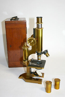 Sehr schönes antikes Mikroskop Beck London - beautiful antique microscope