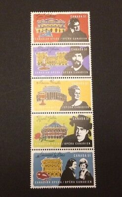 CANADA #2178-2182 Opera Singers (strip of 5) - MNH