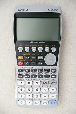 Casio FX 9860 GII Graphing Calculator 1097 Function USB Power Graphic Japanese