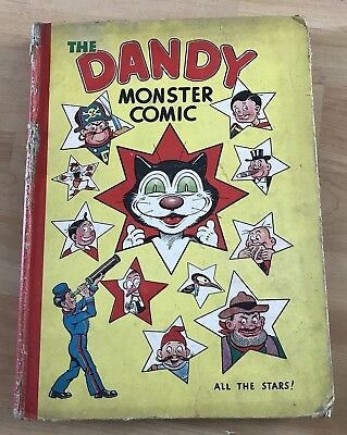 DANDY ANNUAL 1946 MEGA RARE COLLECTABLE  Future Investment *Sent Tracked*