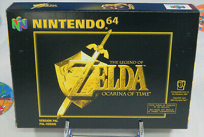THE LEGEND OF ZELDA OCARINA OF TIME Nintendo 64 NEUF/NEW  (FAH French/English)