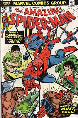 Amazing Spider-Man(1963 1St Series) #140. 2Nd Appearance Of The Grizzly