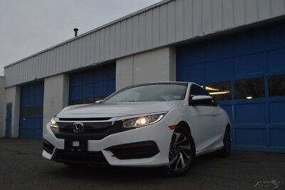 2017 Honda Civic LX-P Full Power Options Power Moonroof Rear View Camera ABS Cruise Bluetooth & More