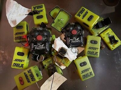 Super Pass Ii And Msa Dragon Fly Lot Scba Alarms For Parts