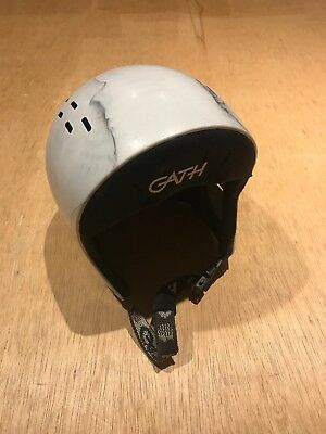 Gath Water Sports Helmet Standard M Grey/white for Kayak Kite Surf Windsurf