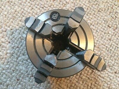 4 JAW INDEPENDENT ENGINEERING LATHE CHUCK 100MM (not self centering)