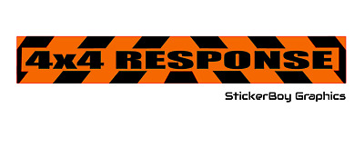 4x4 Response Magnet Chevron Lowland Rescue Highland Offroad Search and Rescue x1