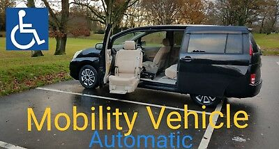 Mobilty Vehicle for disabled people 7 Seater MPV AUTOMATIC  Toyota Verso Estima