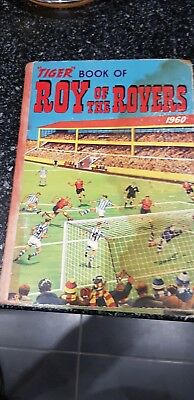 Roy of the Rovers Football Annual 1960 - unclipped but activity page completed