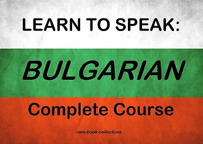 Learn To Speak Bulgarian - Complete Language Training Courses on MP3 and CDs