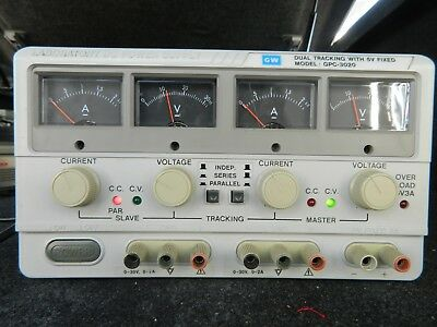 Gw Gpc-3020 Dual Tracking With 5V Fixed Power Supply