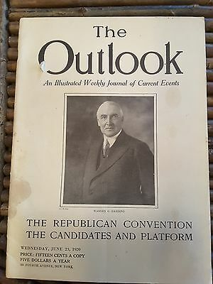 June 14, 1920~ THE OUTLOOK ~AN ILLUSTRATED WEEKLY JOURNAL OF CURRENT EVENTS
