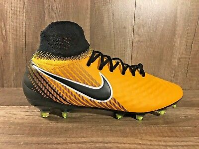 uk availability 79311 301ac New Nike Magista Orden II FG Mens Soccer Cleats Laser Orange 843812-801 Sz  10.5