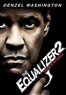 The Equalizer 2 (DVD, 2018) NEW READY TO SHIP