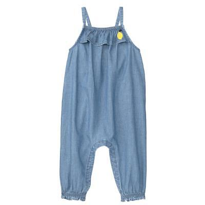 NWT Gymboree Bright Days Ahead Chambray Romper 1 pc Baby Girl 0-3-6-12-18M