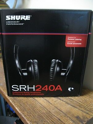 New! Shure SRH240A Pro Headphones Pro Audio & Studio Recording