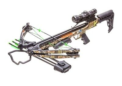 Carbon Express Crossbow X-Force Blade Camo Ready to Hunt Kit 320fps