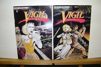 Innovation Comics. Two Issues Of Vigil The Golden Parts & Kukulkan