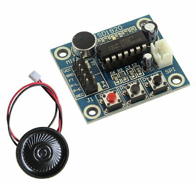ISD1820 Sound Voice Recording Playback Module With Mic Sound Audio Microphone L8