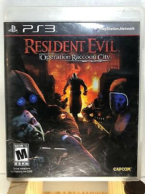 Resident Evil : Operation Raccoon City - Ps3 ( Playstation 3 , 2015 ) Complete !