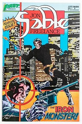 Jon Sable Freelance #1 (1983 First Comics) by Mike Grell NM