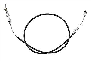 """Polyethylene Braided Stainless Wire 36"""" Throttle Cable Ls1 Black"""