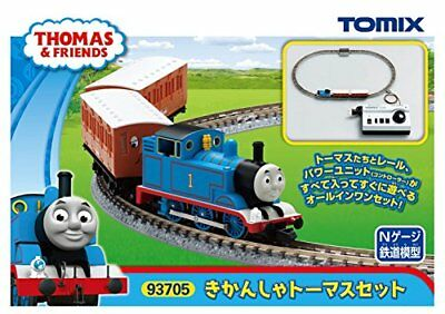 TOMIX N gauge Thomas the Tank Engine set 93,705 model railroad introductory set
