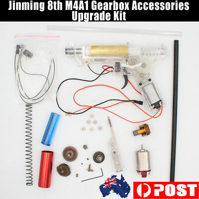 Upgrade Gearbox Metal Parts for JinMing Gen8 M4a1 scar Toy Gel Ball Blaster AU