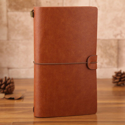 New arrival 20cm*12cm Vintage Loose-leaf Notebook Blank Diary Travel Journal