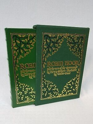Easton Press ROBIN HOOD AND THE MEN OF THE GREENWOOD Henry Gilbert Illus Crane