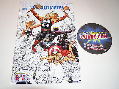 C2E2/NYCC 2010 Exclusive Ultimate NEW Ultimates #1 Variant Loeb and Cho