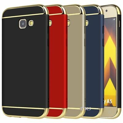 Luxury Electroplating 3in1 Case Cover For Samsung Galaxy A5 2017