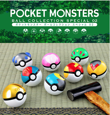 Pokemon Ball Collection SPECIAL 02 Premium Bandai Limited  Authentic Japan B1735