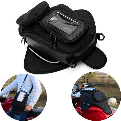 Magnetic Motorcycle Tank Bag Motorbike Oil Fuel Saddle Bag Phone Bag  For Yamaha